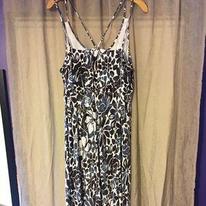 🍁Loft Floral Maxi Dress